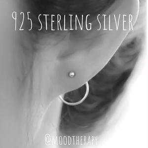Ear Jackets - Illusion Stud/Threader Earrings